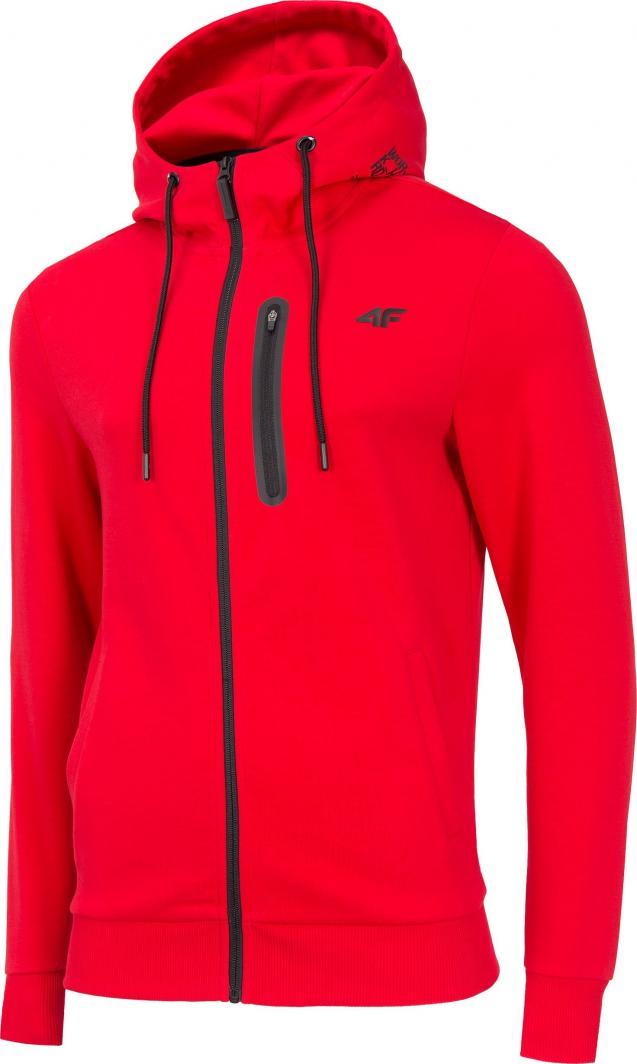 4f czerwona bluza jounior