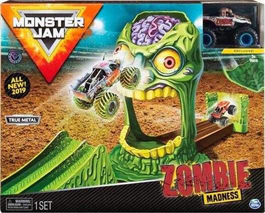 Monster Jam Wyczynowy Zombie Madness + Monster Truck Zombie (6045029/20103382) 1