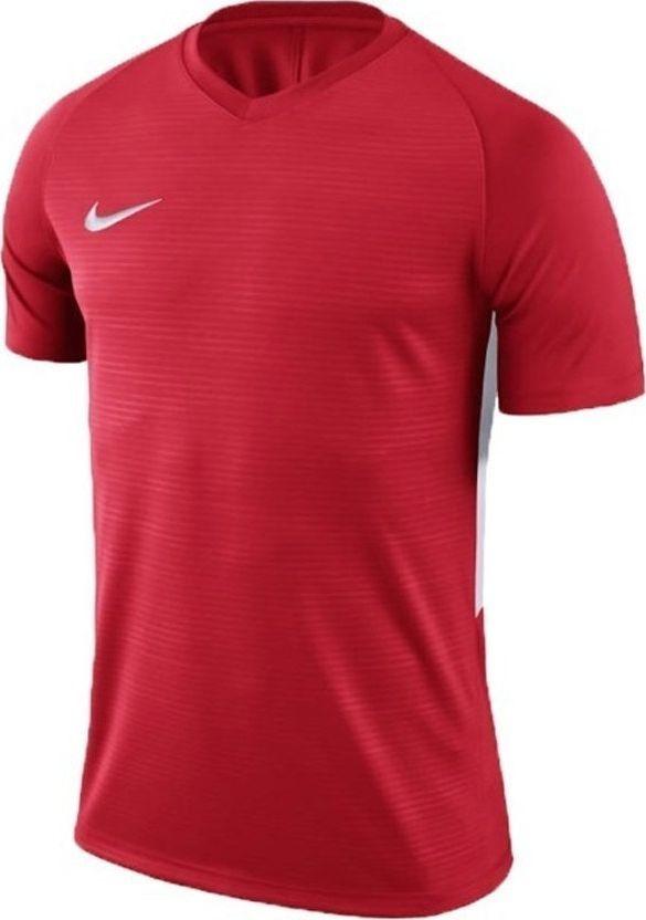 Nike Koszulka chłopięca Y Nk Dry Tiempo Prem Jsy Ss czerwona r. XL (894111 657) 1
