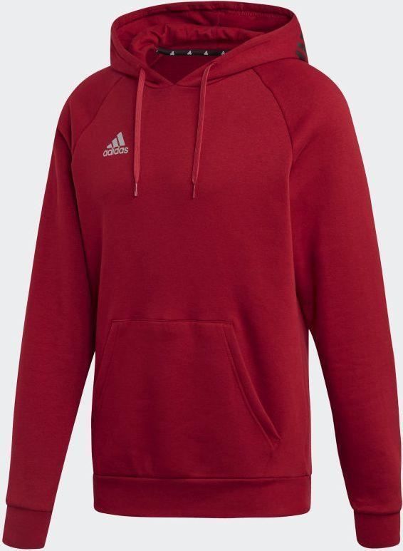 Adidas Bluza męska Tango Sweat Hoody czerwona r. L (DZ9613) ID produktu: 6202432