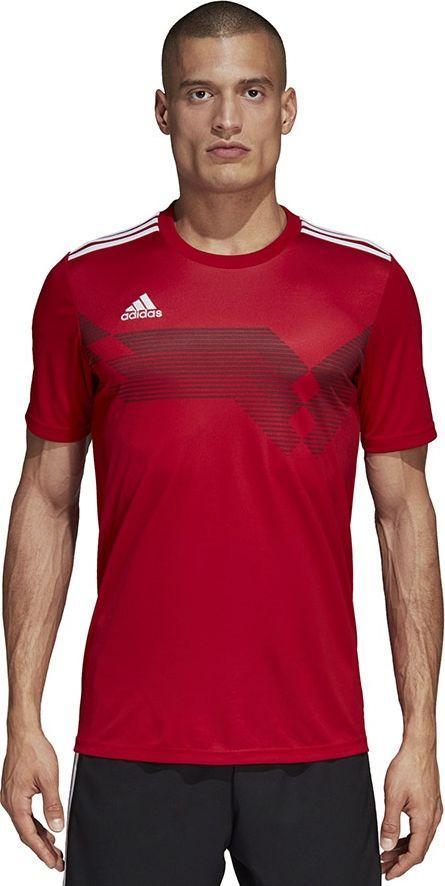 Adidas Koszulka męska Campeon 19 JSY czerwona r. XL (DP6809) 1
