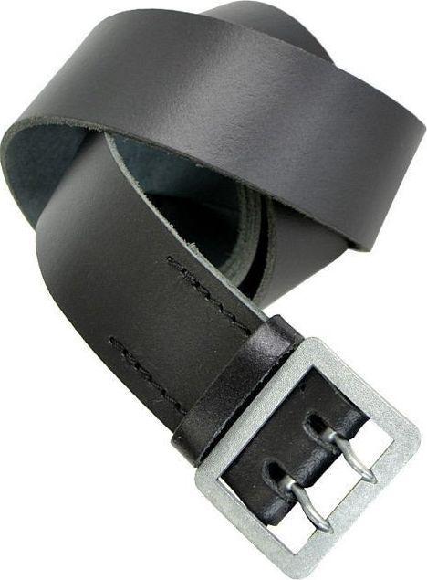 Mil-Tec Mil-Tec Pas Policyjny Skórzany Czarny 140 cm 1
