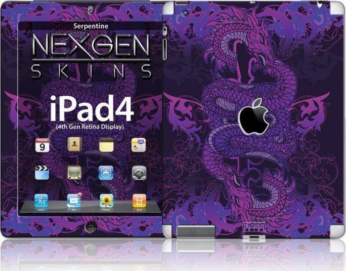 Nexgen Skins Nexgen Skins - Zestaw Skórek Na Obudowę Z Efektem 3d Ipad 2/3/4 (serpentine 3d) 1