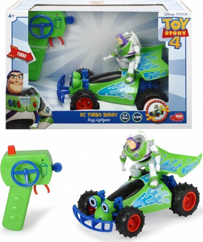 Dickie Pojazd Rc Toy Story 4 Buggy I Buzz Astral zielony 1