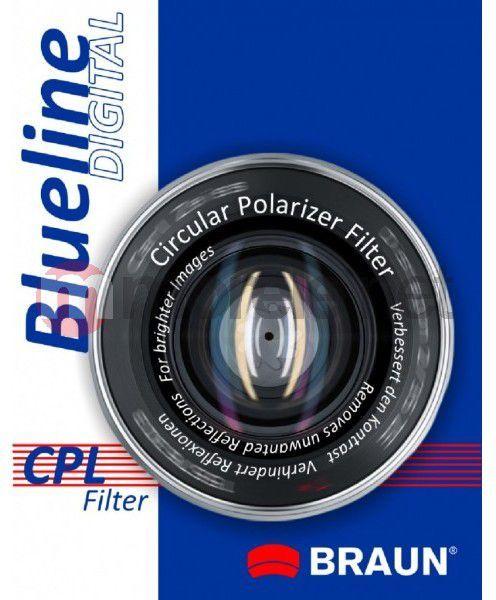 Filtr Braun Phototechnik Filtr foto Blueline CPL 46mm blucpl46 1