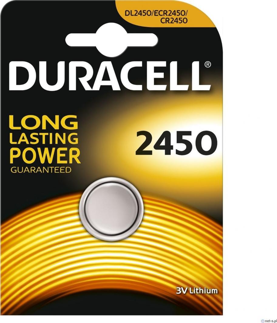 Duracell Bateria CR2450 620mAh 1szt. 1