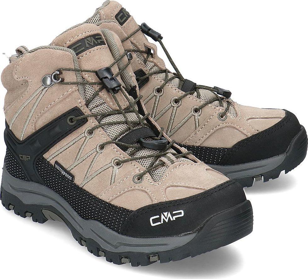 Campagnolo (CMP) Buty dziecięce Rigel Mid beżowe r. 35 (3Q12944-04PD) 1