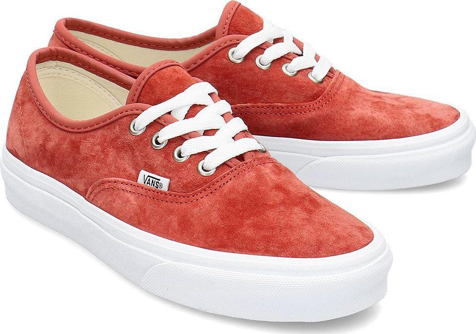 buty vans authentic red w kategorii Pozostałe obuwie damskie