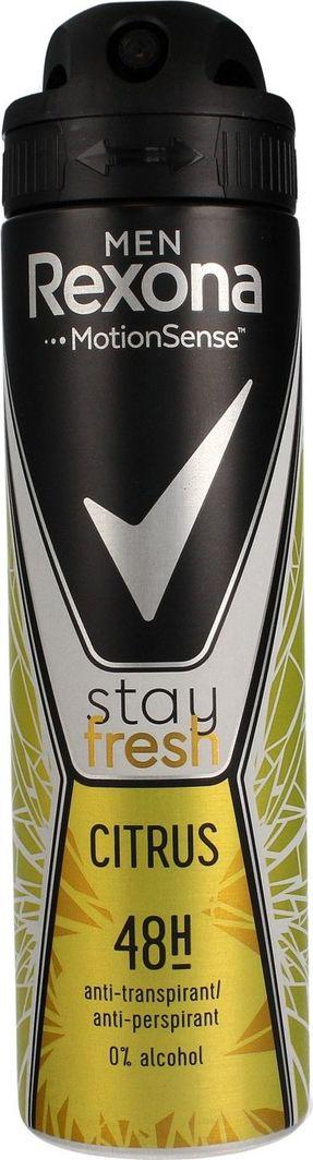 Unilever Rexona Stay Fresh Men Dezodorant spray Citrus 150ml 1