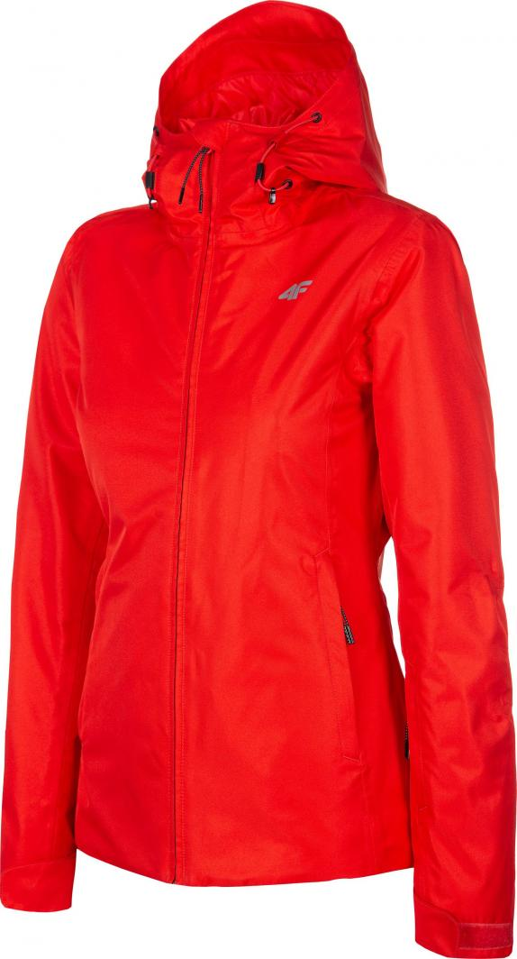 Kurtka narciarska 4F 19 damska KUDN001 czerwona
