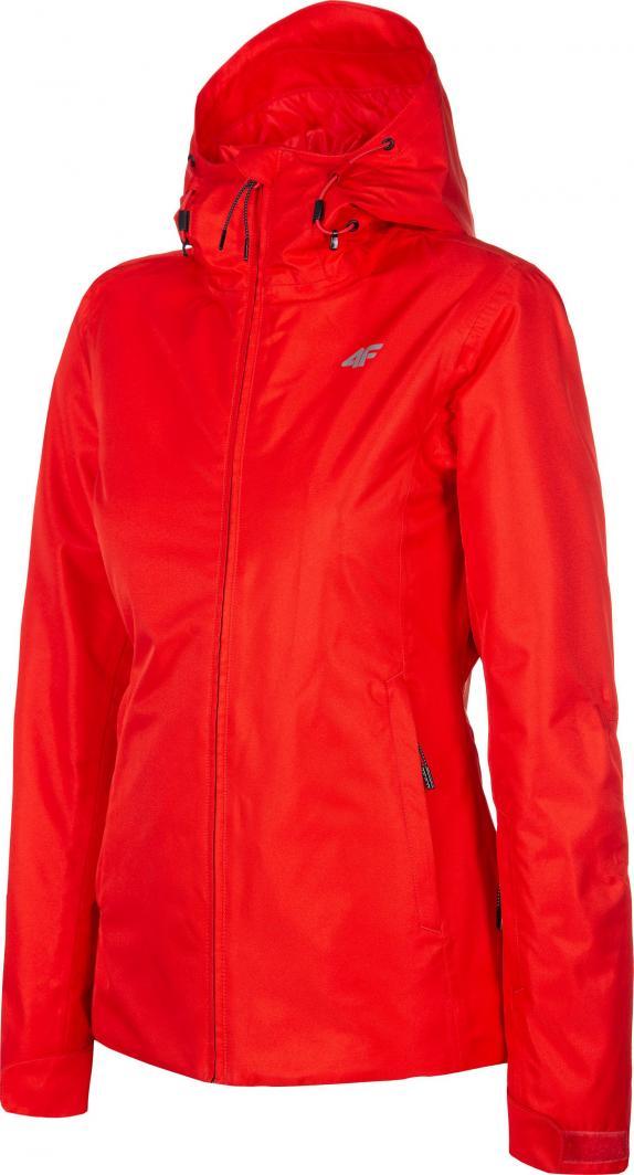 4f Kurtka narciarska damska H4Z19-KUDN001 czerwona r. S 1
