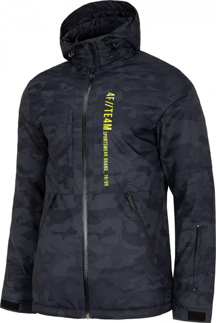 kurtka narciarska m czarna męska