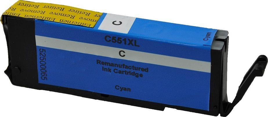V7 Tusz CLI-551XL Cyan (V7-CACLI551C-XL-INK) 1