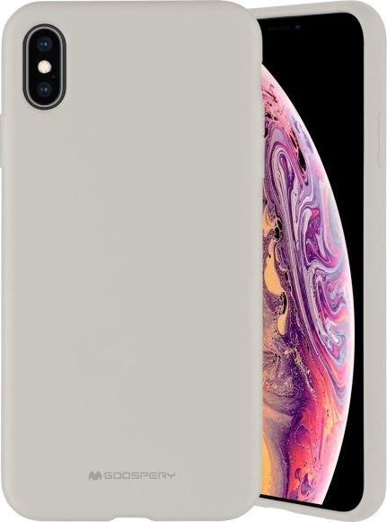Mercury Silicone iPhone 11 beżowy /stone 1