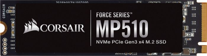 Dysk SSD Corsair Force MP510 1.92 TB M.2 2280 PCI-E x4 Gen3 NVMe (CSSD-F1920GBMP510) 1