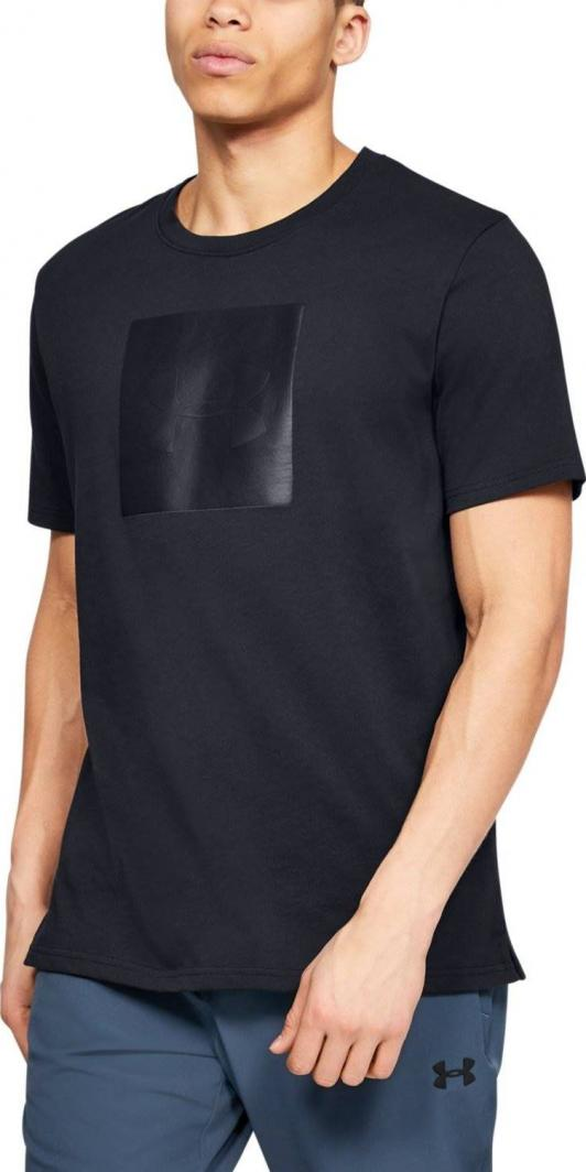 Under Armour Koszulka męska Unstoppable Knit Tee czarna r. XL (1345643 001) ID produktu: 6222766