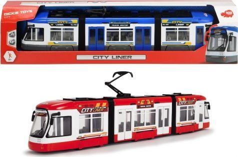 Dickie Pojazd City Tramwaj 1