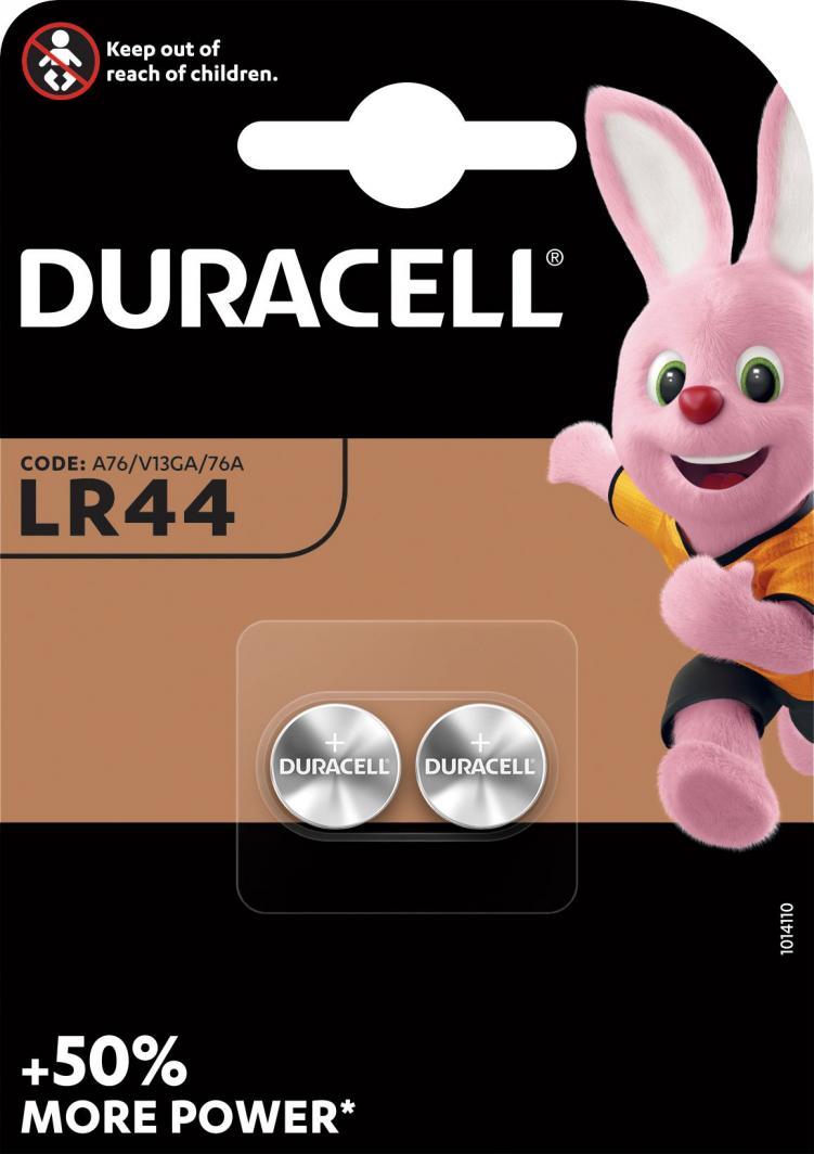 Duracell Bateria Electronics LR44 150mAh 2szt. 1