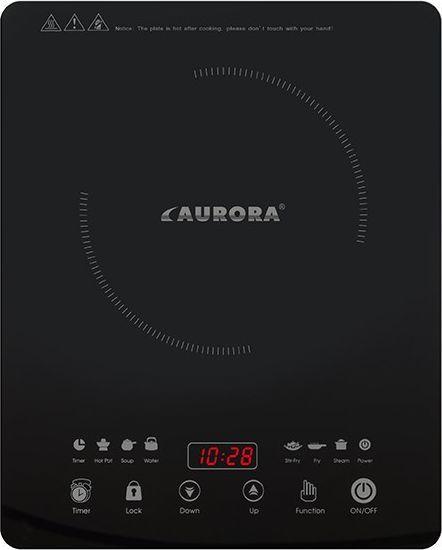 Płyta wolnostojąca Aurora Kuchenka indukcyjna szklana jednopalnikowa AU4473 Aurora 1