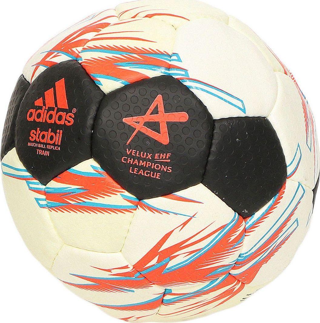 Adidas Piłka ręczna Adidas Stabil Match Ball Replica Train 8 S87887 R.1 1