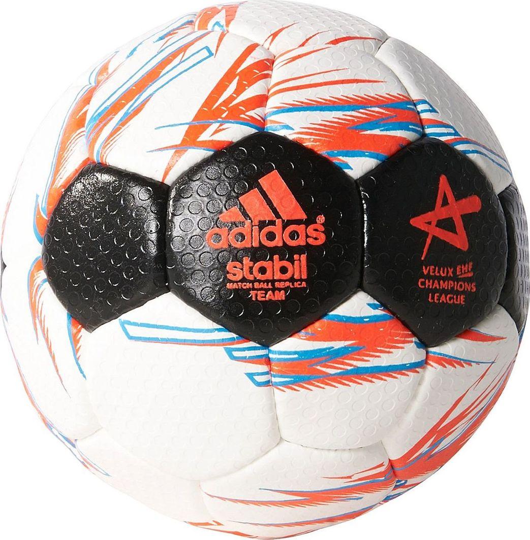 Adidas Piłka ręczna Adidas Stabil Match Ball Replica Team 8 S87889 R.2 1