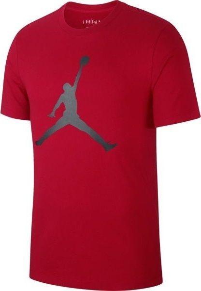 Jordan  Koszulka męska Jumpman czerwona r. S (CJ0921-687) 1