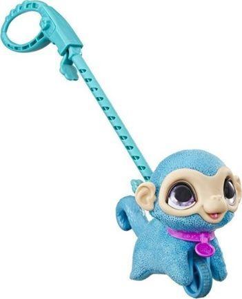 Hasbro FurReal Friends - Mały zwierzak na smyczy Małpka (E4777) 1