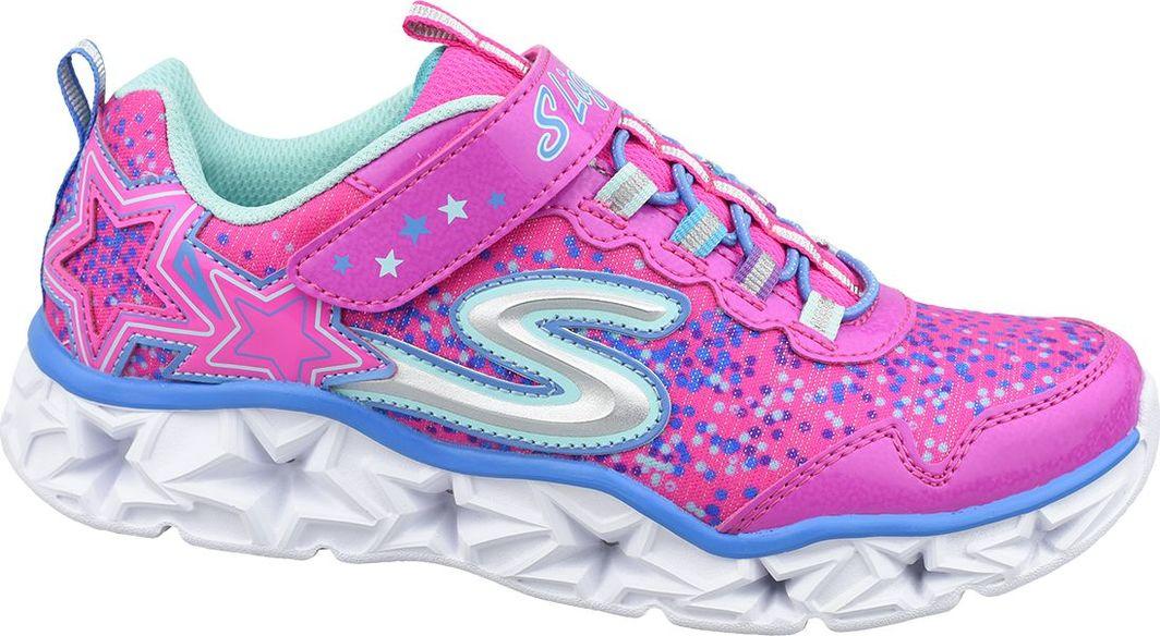 Skechers Byty dziecięce Galaxy Lights różowe r. 33.5 (10920L-NPMT) 1