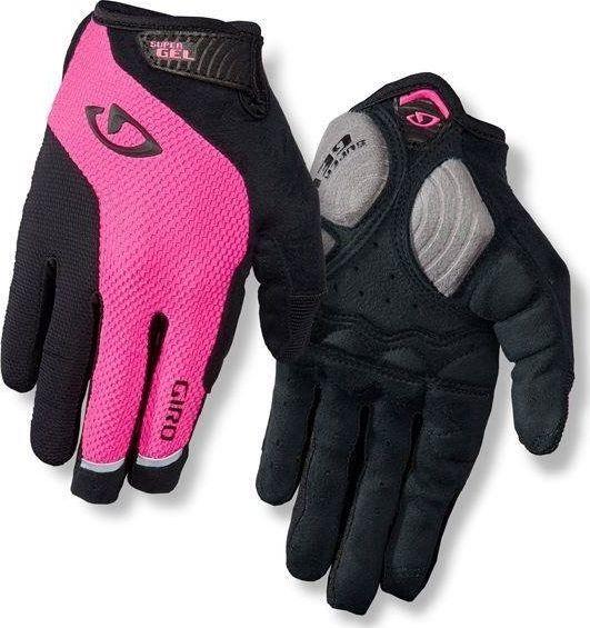 Giro Rękawiczki damskie Strada Massa Sg Lf długi palec bright pink r. M 1