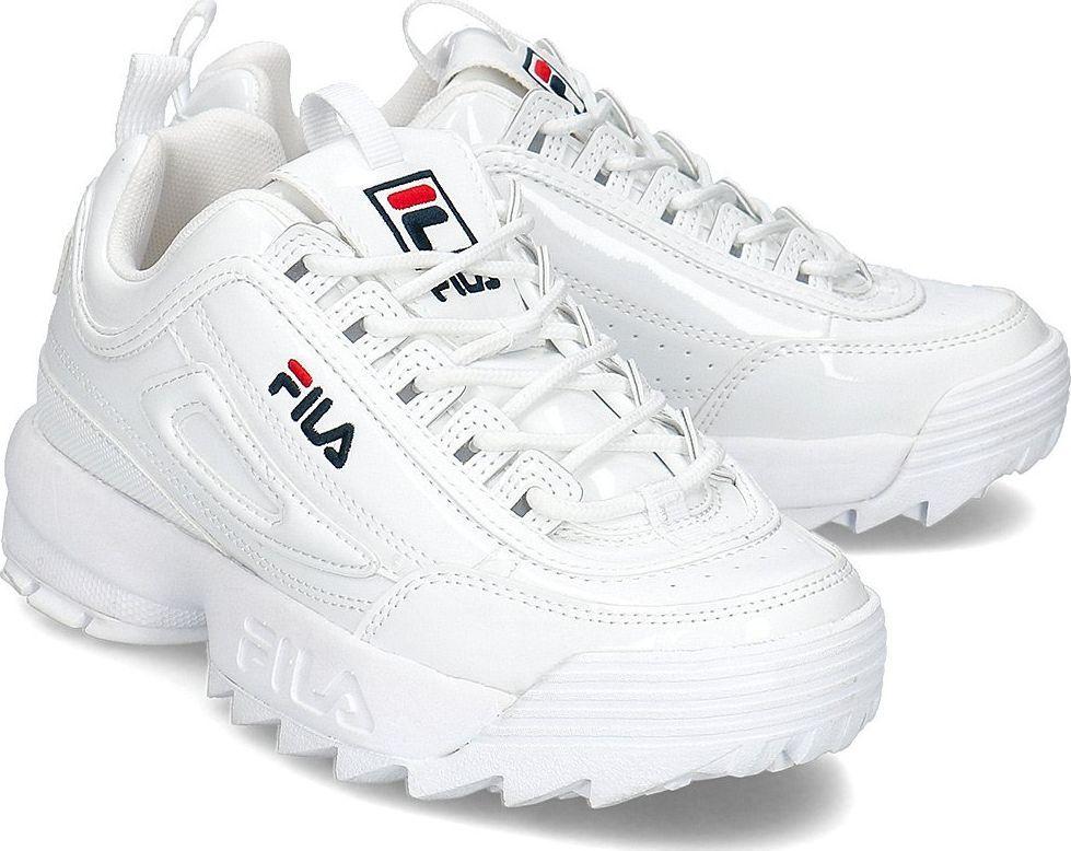 Fila Buty damskie Disruptor białe r. 37 (1010746.1FG) ID produktu: 6238215