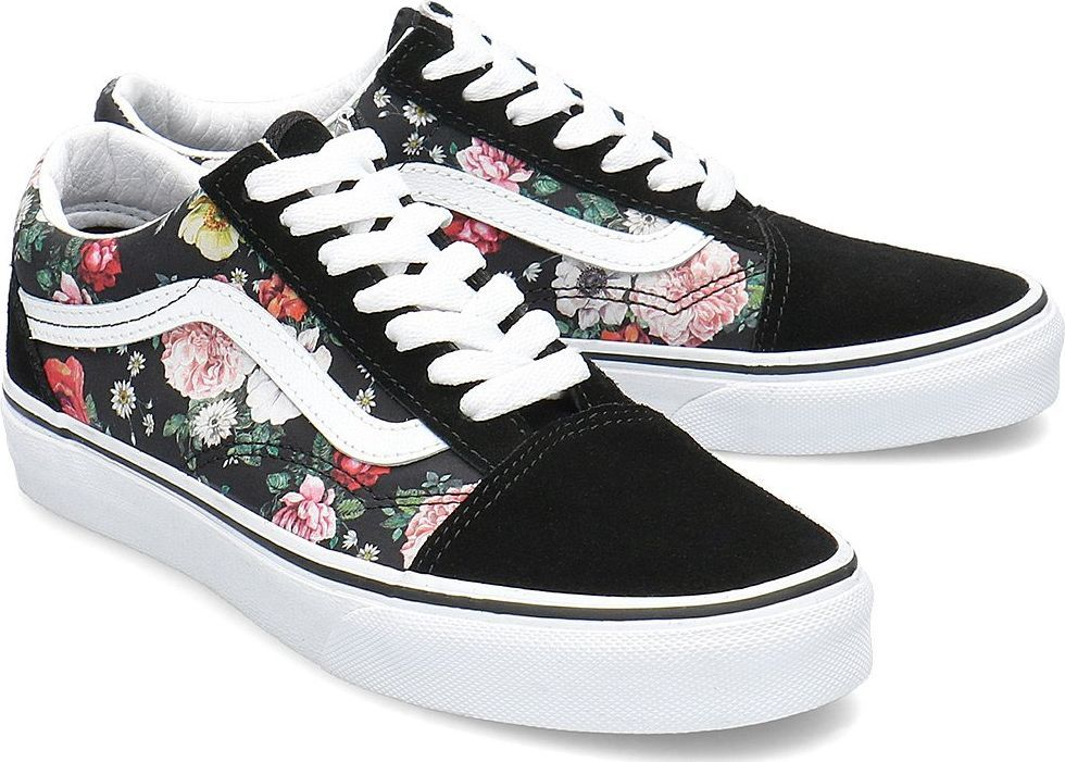 vans old skool w kwiatki