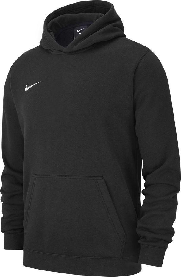 Nike Bluza dziecięca Team Club 19 Fleece Hoodie Po czarna r. S (AJ1544-010) 1