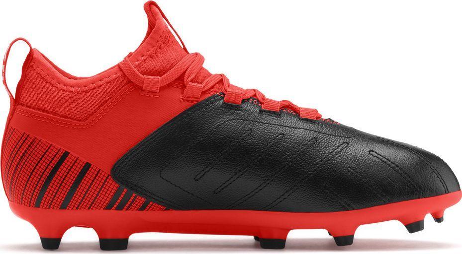 Puma Buty piłkarskie Puma One 5.3 FG AG Junior czerwono czarne 105657 01 38,5 1