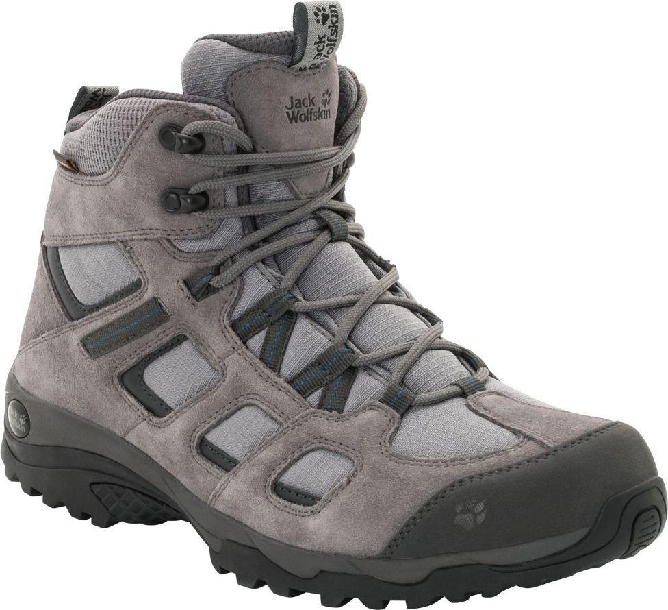 Jack Wolfskin Buty męskie Vojo Hike 2 Texapore Mid M Tarmac Grey r. 40.5 (4032371-6011) 1