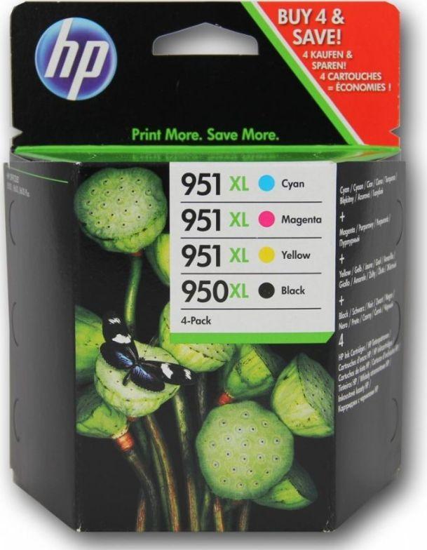 HP tusze C2P43AE nr 950XL/951XL (cyan, magenta, yellow, black) 1