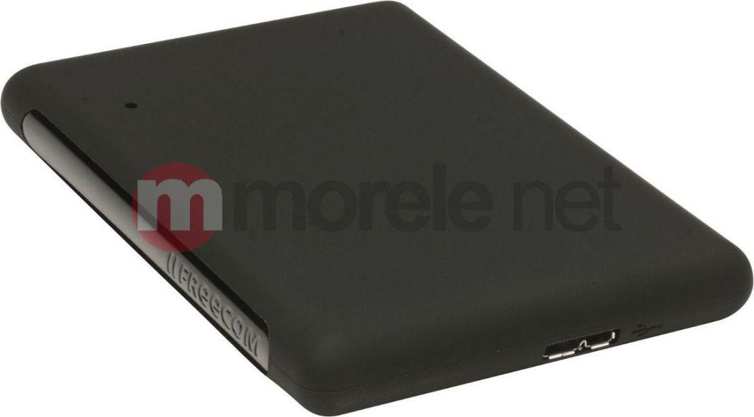 Dysk zewnętrzny FreeCom HDD 500 GB Czarny (56005/56296) 1
