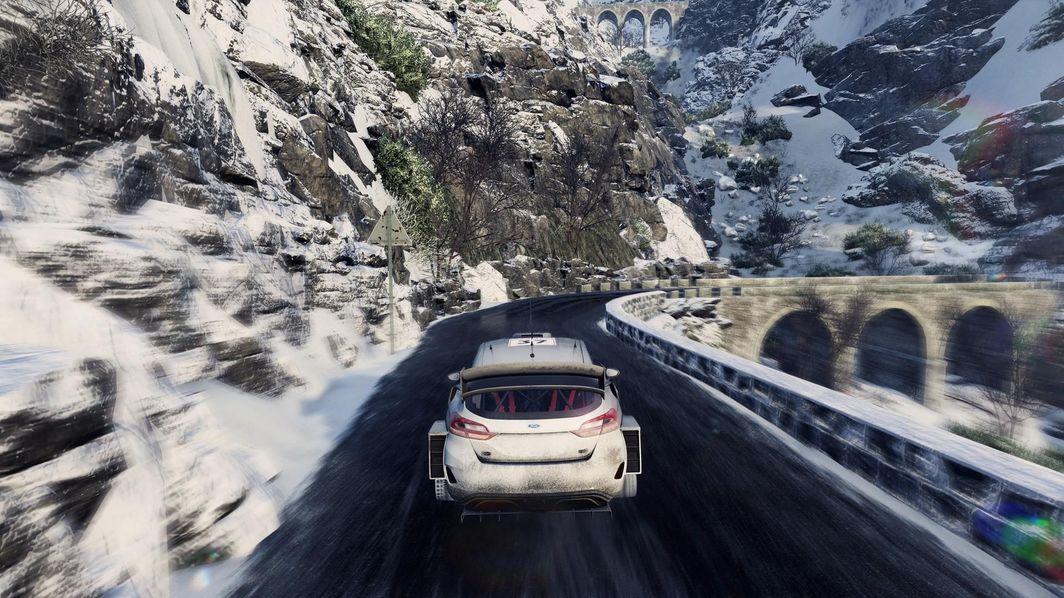 Gra WRC 8 (wersja BOX; Blu-ray; ENG, PL - kinowa; od 3 lat) PS4 1