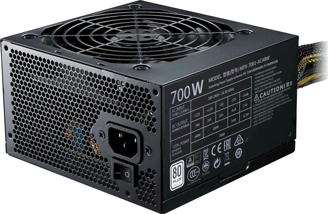 Zasilacz Cooler Master MWE 700 V2 (MPE-7001-ACABW-EU) 1