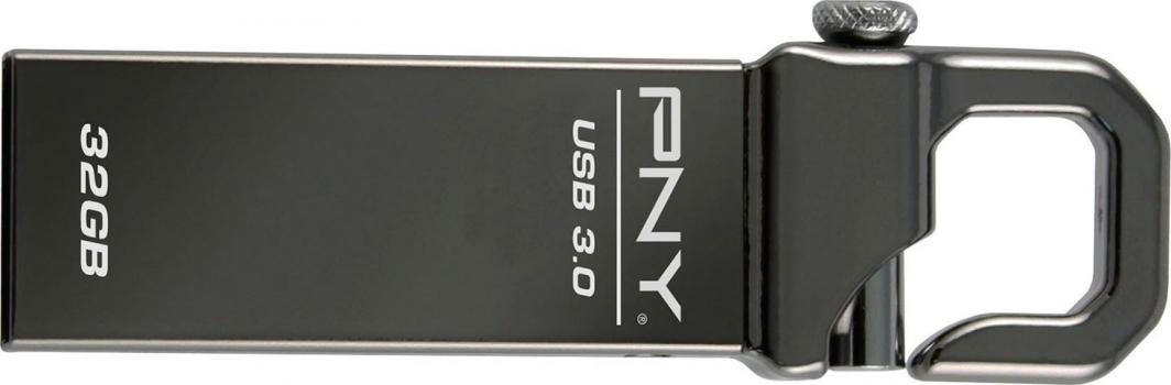 Pendrive PNY Hook 32 GB (FDU32GBHOOK30-EF) 1
