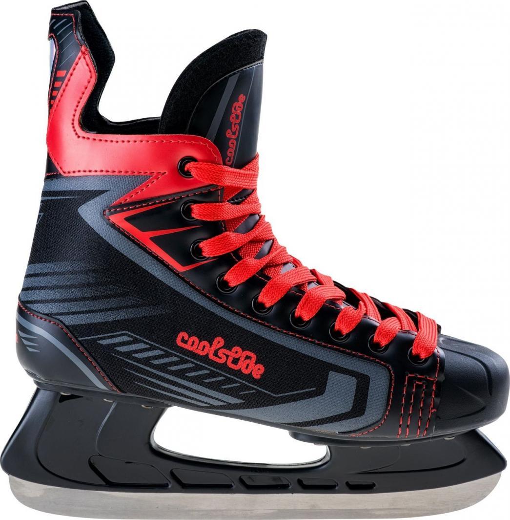 CoolSlide Łyżwy hokejowe Tampa Black/Orange r. 46 1