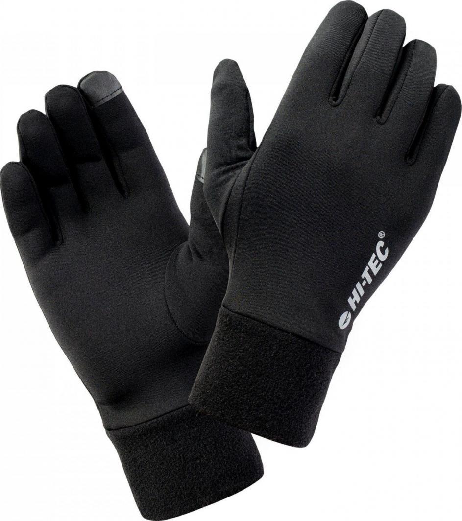 Hi-Tec Rękawice do biegania Janni black r. L/XL 1