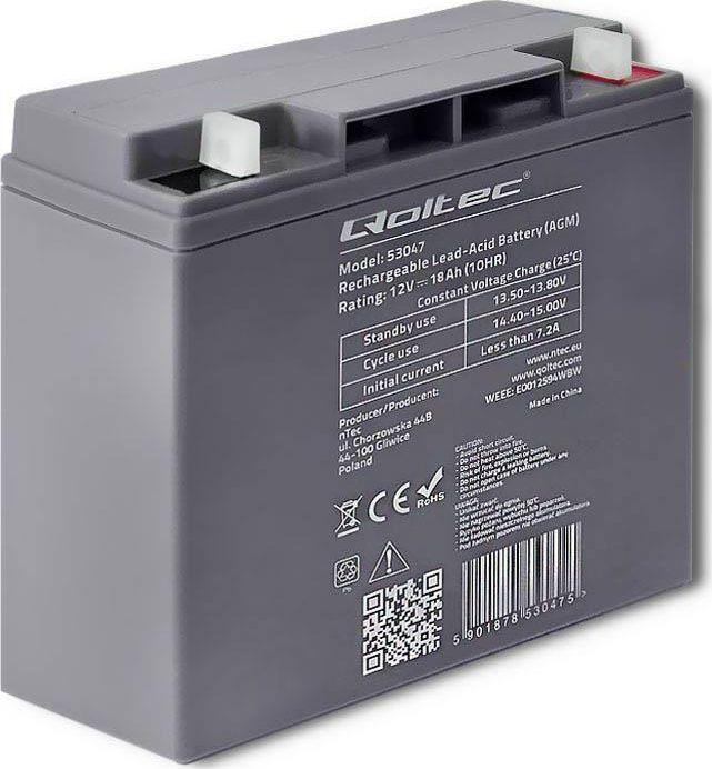 Qoltec Akumulator bezobsługowy Qoltec 53047 1