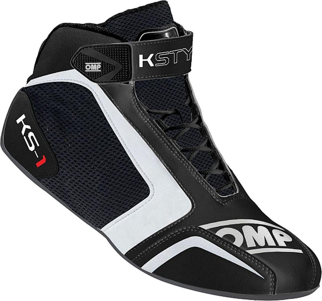 OMP Racing Buty OMP KS-1 MY16 czarno/białe 41 1