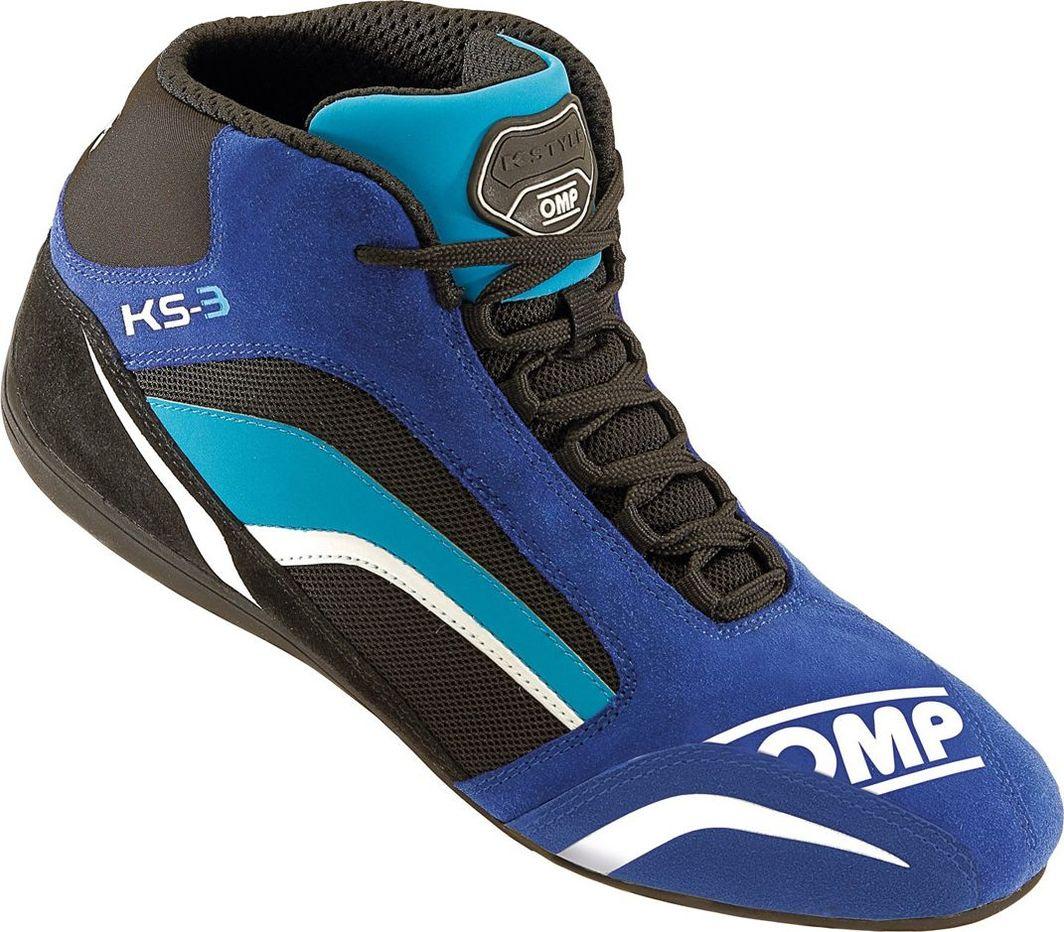 OMP Racing Buty OMP KS-3 niebiesko - czarne 40 1