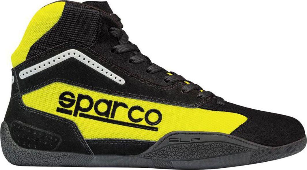 Sparco Buty kartingowe Sparco GAMMA KG-4 czarno/żółte (homologacja CIK) 47 1