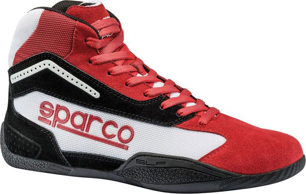 Sparco Buty kartingowe Sparco GAMMA KG-4 czerwono/białe (homologacja CIK) 30 (11.5) 1