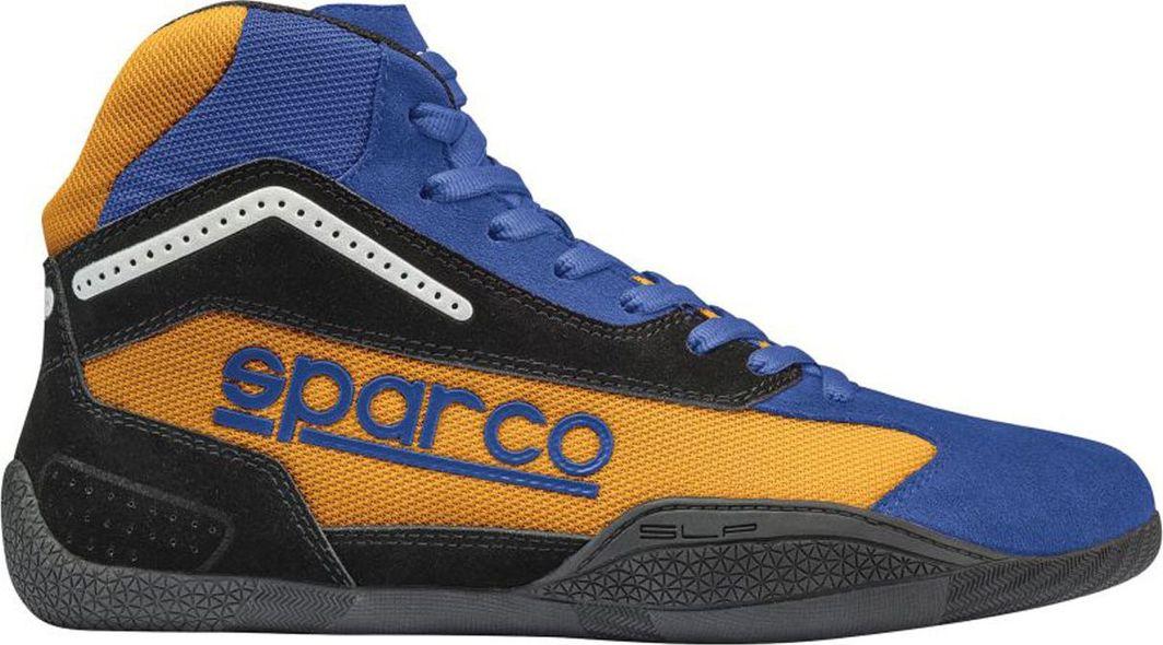 Sparco Buty kartingowe Sparco GAMMA KG-4 niebiesko/pomarańczowe (homologacja CIK) 30 (11.5) 1