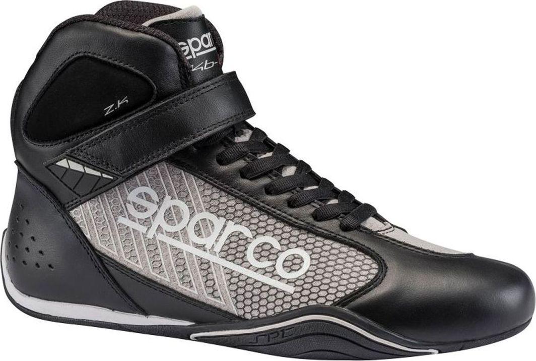 Sparco Buty kartingowe Sparco Omega KB-6 czarno/srebrne (homologacja CIK) 41 1