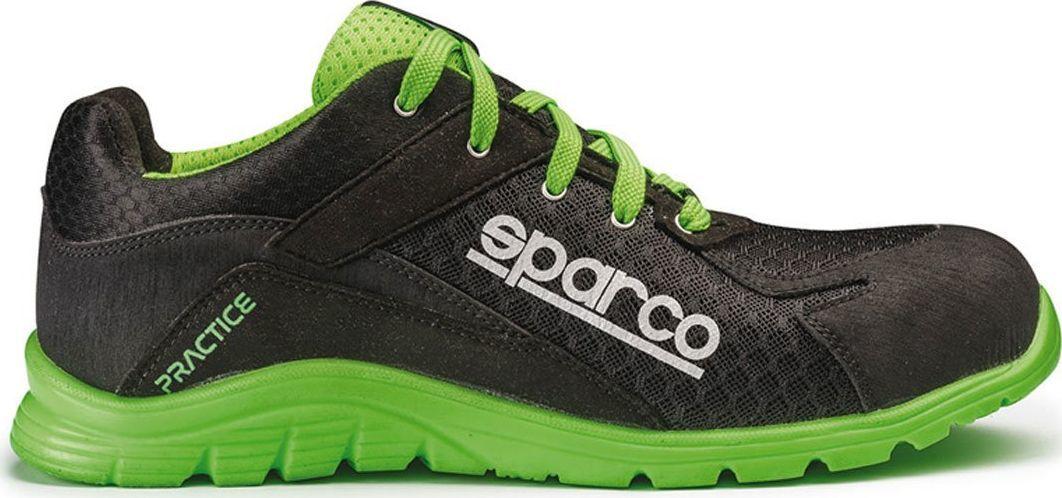 Sparco Buty unisex Practice czarno-zielone r. 46 1
