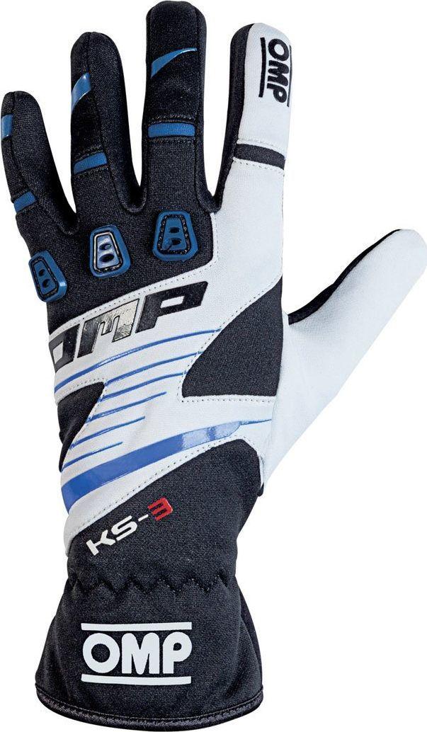 OMP Racing Rękawice OMP KS-3 MY18 czarno-niebieskie XL 1